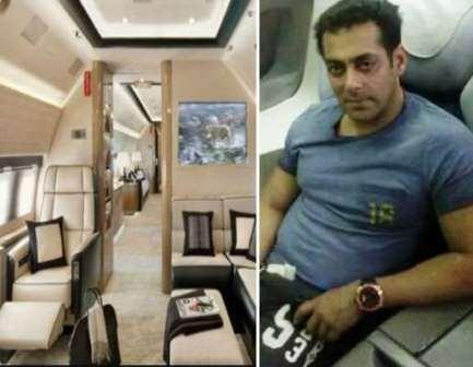 Salman Khan Private Jet Photos, Salman Khan Private Jet Photos, Private Jet Photos of salman khan