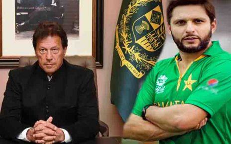 Shahid Afridi supports Imran Khan after Pulwama Attack