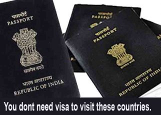 You dont need visa to visit these countries.